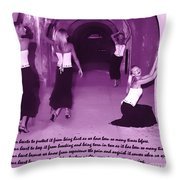 We Guard Our Heart Throw Pillow