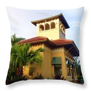 We Hate To Leave Throw Pillow