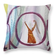 We Made It Moses   Throw Pillow