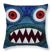 We Need Monsters #5 Throw Pillow