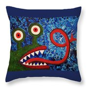 We Need Monsters #7 Throw Pillow