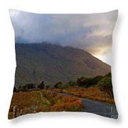 We Took The Road Less Traveled Throw Pillow