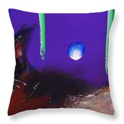 We Two Cats Throw Pillow