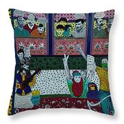 We Want Peace, Religion Of Humanity Throw Pillow