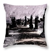 We Will Be Trees Throw Pillow