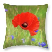 We Will Remember Them Throw Pillow