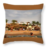 Weak Transport... Throw Pillow