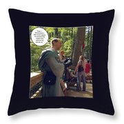 Weakest Link Throw Pillow