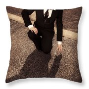 Wealth Of Discovering New Avenues Of Business Throw Pillow