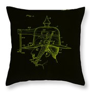 Weapon Patent Drawing 2h Throw Pillow
