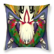 Wearing It On Your Sleeve Throw Pillow