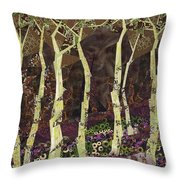 Wearing The Scars Throw Pillow