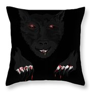 Wearwolf Throw Pillow