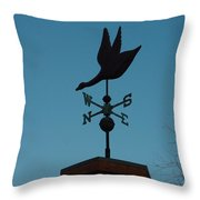 Weather Vane Throw Pillow