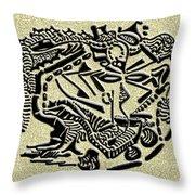Weathered Bedu  Throw Pillow