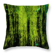 Weathered Gravestone Throw Pillow