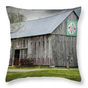 Weathered Gray Throw Pillow