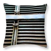 Weathered Metal Throw Pillow