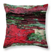 Weathered Wood 3 Throw Pillow