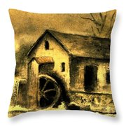 Weathering Life's Storms Throw Pillow