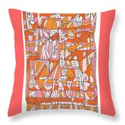 Weave What Works Throw Pillow