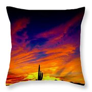 Dancing With The Seven Sisiters Throw Pillow