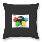 Web Design And Development Company In Adelaide  Throw Pillow