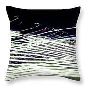 Web/light Throw Pillow