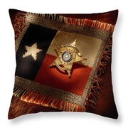 Webb County Classic Throw Pillow