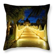 Wecome To The Hotal California Throw Pillow