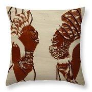 Wedded Bliss - Tile Throw Pillow