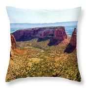 Wedding Canyon Throw Pillow