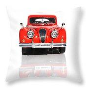 Wedding Car Throw Pillow by Jorgo Photography - Wall Art Gallery