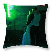 Wedding Dance Throw Pillow