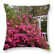 Wedding Gazebo Throw Pillow
