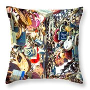 Wedlocked Throw Pillow