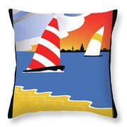 Wednesday Afternoon Throw Pillow