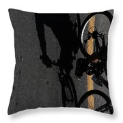Wednesdays Climb  Throw Pillow
