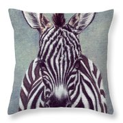 Wee Zeeb Throw Pillow
