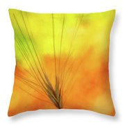 Weed Glow Throw Pillow