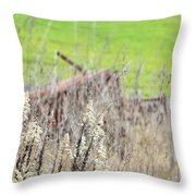 Weeds 008 Throw Pillow