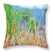 Weeds 033 Throw Pillow