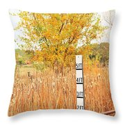 Weeds 035 Throw Pillow