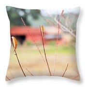 Weeds 037 Throw Pillow