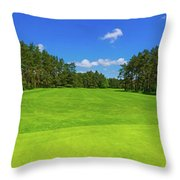 Weekend Dreams Throw Pillow