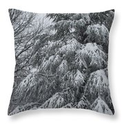 Weighed Down Throw Pillow