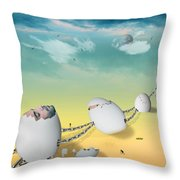 Weird Dream Throw Pillow