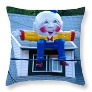 Welcome Back My Friends....... Throw Pillow