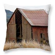 Welcome Barn_mg_-9090 Throw Pillow