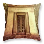 Welcome Throw Pillow by Bob Orsillo